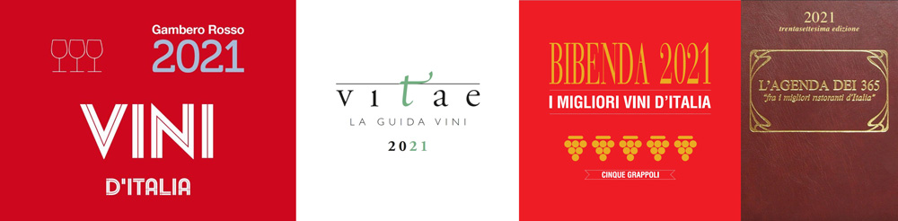 I vini dell'Azienda Agricola Terre di Levanto sono presenti sulla rinomata guida Gambero Rosso Vini d'Italia 2021, Bibenda i migliori Vini d'Italia 2021, Vitae 2021, Agenda 365 2021.